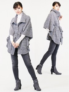 Funwari Mall Knitted Cape Cardigan
