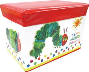 Hungry Bug, Flower & Plant Book Storage Box Red