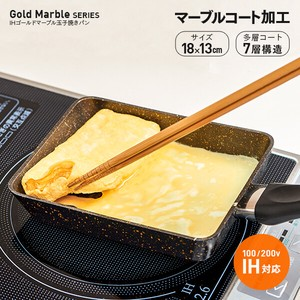 Gold Marble Egg Pan