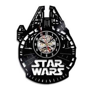 Wall Hanging Product Clock/Watch Star Wars Series Wing