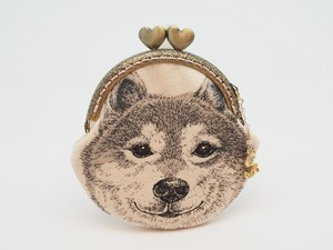 Last Feeling Coin Purse Pouch Coin Case Base Shiba Dog
