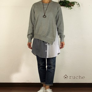 Active Long Blouse Knitted Docking