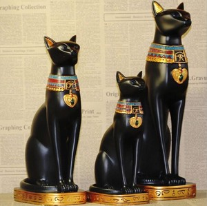 Egypt Cat Interior Ornament Decoration