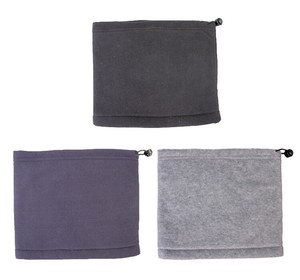 Fleece Inner Neck Warmer Plain 3WAY 3 Colors Assort