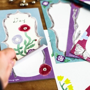 Japanese Paper Use Flower Letter paper [ 2020NewItem ]