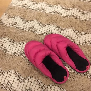 Padding Fluffy Room Shoe Pink