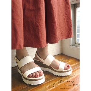 Combi Belt Double Sole Sandal Sandal Heel Wedged