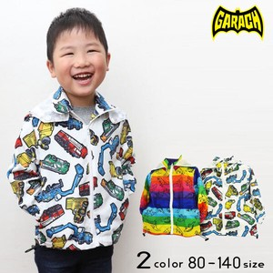 Spring Items Repeating Pattern Wind Breaker