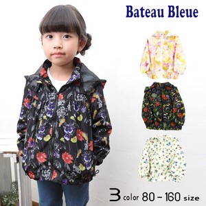Spring Items Floral Pattern Wind Breaker