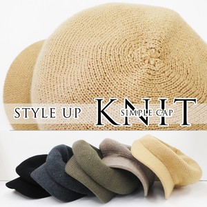 Hats & Cap Cap Knitted Wool Tailoring Standard Style