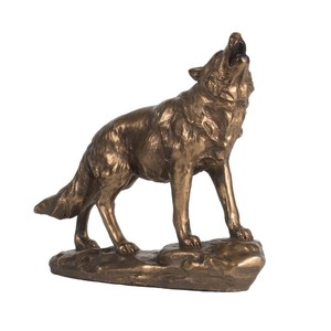 Animal Objects Wolf Wolf Ornament