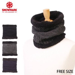 Knitted Cable Neck Warmer Snood 3 Colors Assort