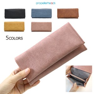 Synthetic Leather Flap Long Wallet