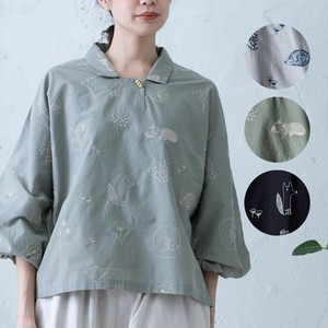 S/S Embroidery Blouse
