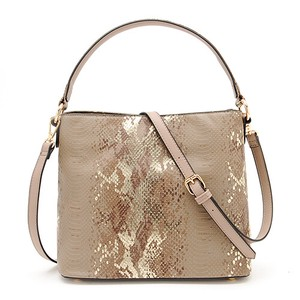 lame Python Handle 2WAY BAG