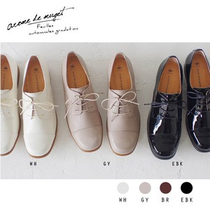 Leather Flat Shoe Lace Shoes