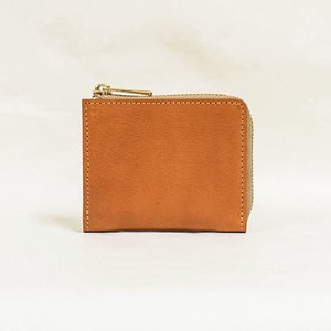 Tochigi Leather Fastener Compact Wallet Cow Leather Men's Ladies Camel