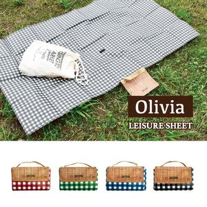Gingham Check Picnic Blanket Cherry Blossom Viewing