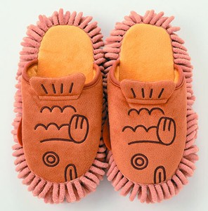 Taiyaki Fish-shaped Cake Mop-style Slipper