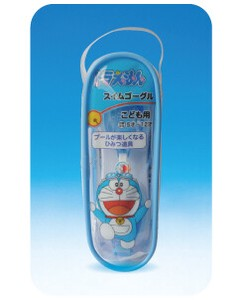 for Kids Doraemon Blue Swimming Goggles Protection