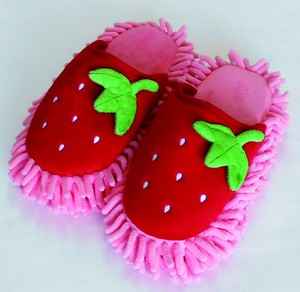 Strawberry Mop-style Slipper