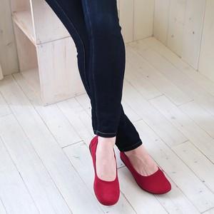スエードバレエシューズ<日本製> Suede Ballet Shoes