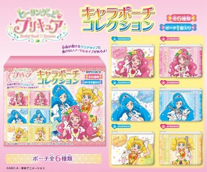 Ring Pretty Cure Character Pouch Collection