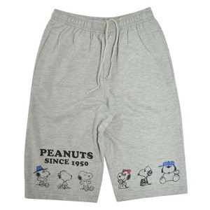 Snoopy Half Pants Fleece Pile Material