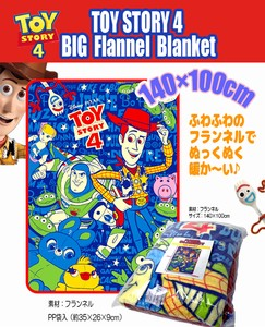 Toy Story Big Flannel Blanket Lap Robe