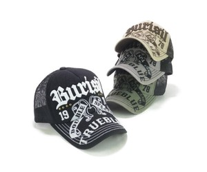 Solid Embroidery Studs Trucker Hat Young Hats & Cap
