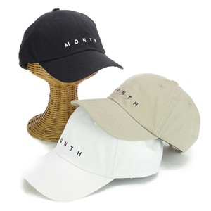 Embroidery Fake Linen Cap Young Hats & Cap