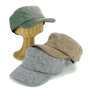 Linen Military Cap Young Hats & Cap