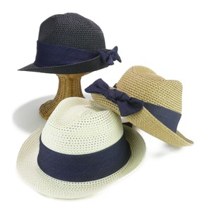Denim Bag Ribbon Paper Hat Ladies Hats & Cap