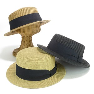 Wide Ribbon Paper Ladies Hats & Cap