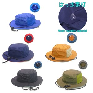 Removable Strap Water-Repellent Adventure Hat Young Hats & Cap