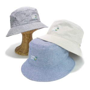 Embroidery Chambray BUCKET HAT Young Hats & Cap