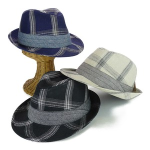 Checkered Line High-back Young Hats & Cap