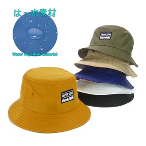 Water-Repellent Black BUCKET HAT Young Hats & Cap