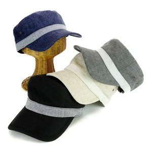Fake Linen Combi Cap Young Hats & Cap