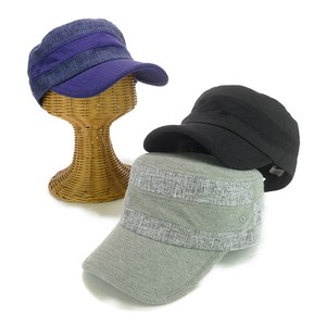 Fake Linen Pile Switching Cap Young Hats & Cap