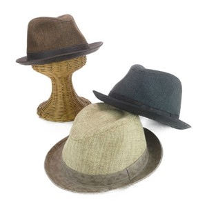 Ruben Fake Linen Leather Hat Young Hats & Cap