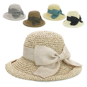 Linen Ribbon Paper Sailor Hat Ladies Hats & Cap