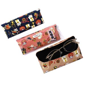 Cat Eyeglass Hard Case 3 Colors Assort
