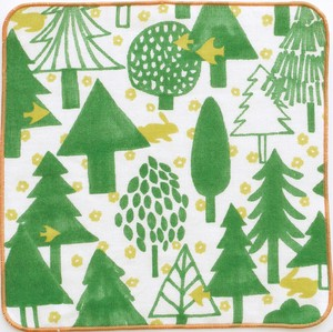 Towel Handkerchief Forest