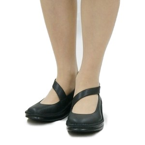 Diagonally Belt Genuine Leather Pumps [ 2020NewItem ]