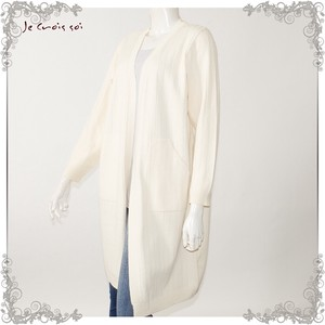 [ 2020NewItem ] Spring Items Knitted 4 Colors Waist Tunic Knitted Cardigan Lady