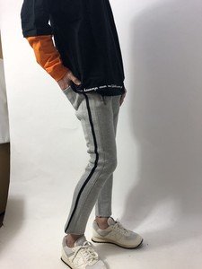 Line Switching Ankle Pants