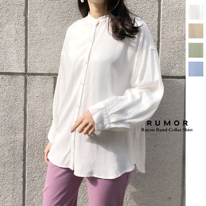 [ 2020NewItem ] Rayon Band Color Shirt
