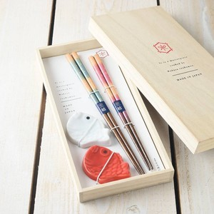 Sakura Chopstick Rest Chopstick Gift [Made in Japan/Japanese Plates]