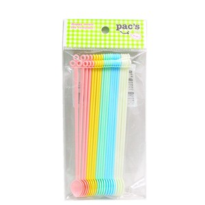 Cocktail Stirrer 20 Pcs 5 Colors 4 Pcs